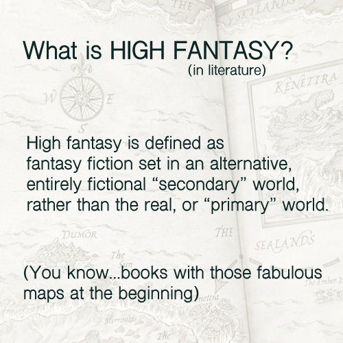 what is high fantasy