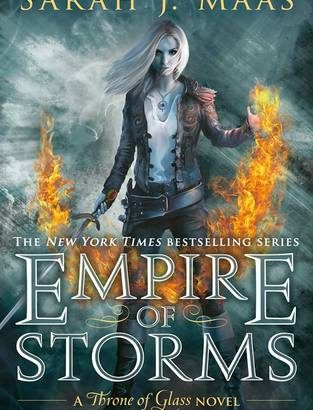 Empire of Storms Cover Reveal by Sarah J Maas