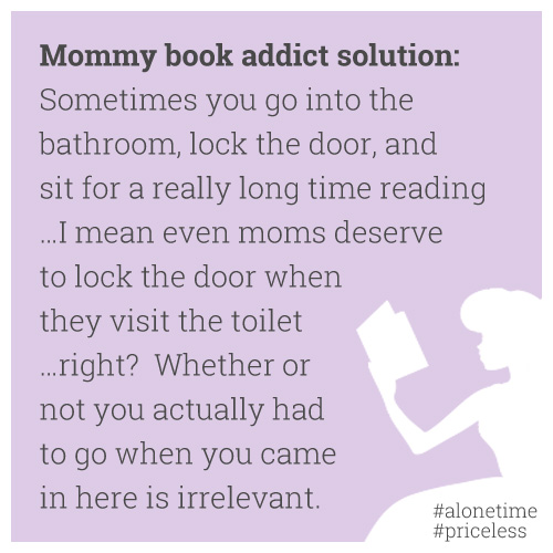 moms who love to read