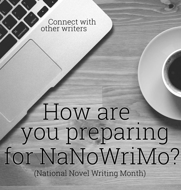 connect with other writers for nanowrimo