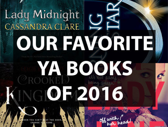 Our Favorite Books of 2016 and Other Book News