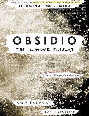 Obsidio Cover Reveal - The Illuminae Files #3