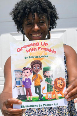 growing up with Frankie by Patrice Lorick