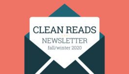 Clean Reads Newsletter - Fall/Winter 2020