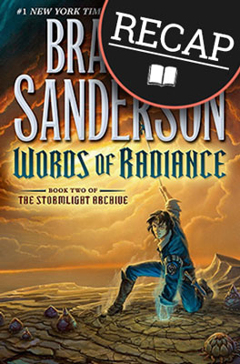 What happened in Words of Radiance? (The Stormlight Archive #2)